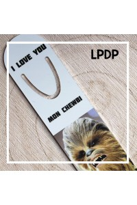 Marque page Chewbacca