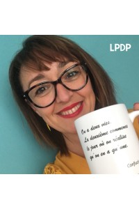 Mug On a deux vies - Confucius LPDP