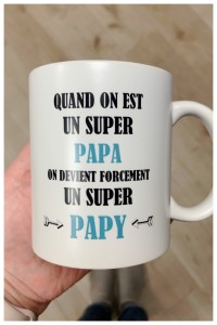 Mug Super Papy Les Jolis Mômes
