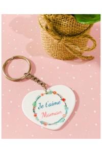 Porte clé Maman Je t'aime