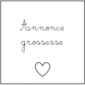 • Annonce grossesse