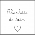 • Charlotte de bain