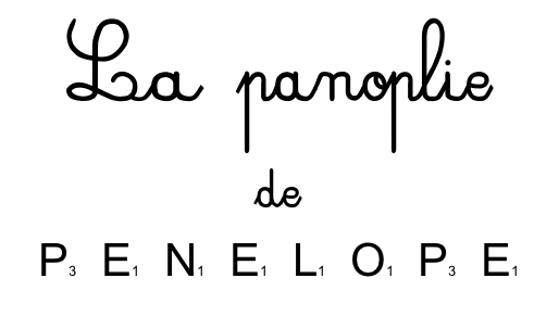 La Panoplie de Pénélope