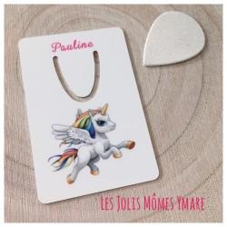 Marque page Licorne