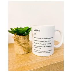 Mug Mamie - Définition