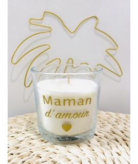 Bougie Maman d'Amour