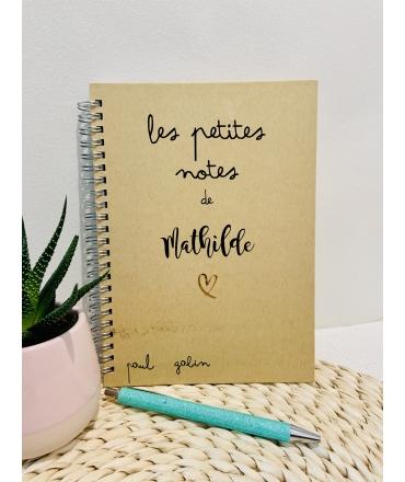 Carnet Les petites notes
